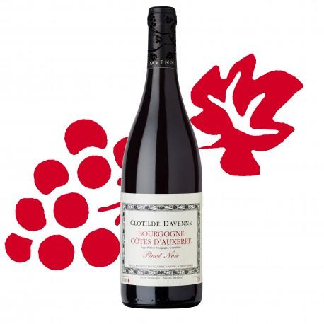 Bourgogne Rouge Côtes d'Auxerre 2015