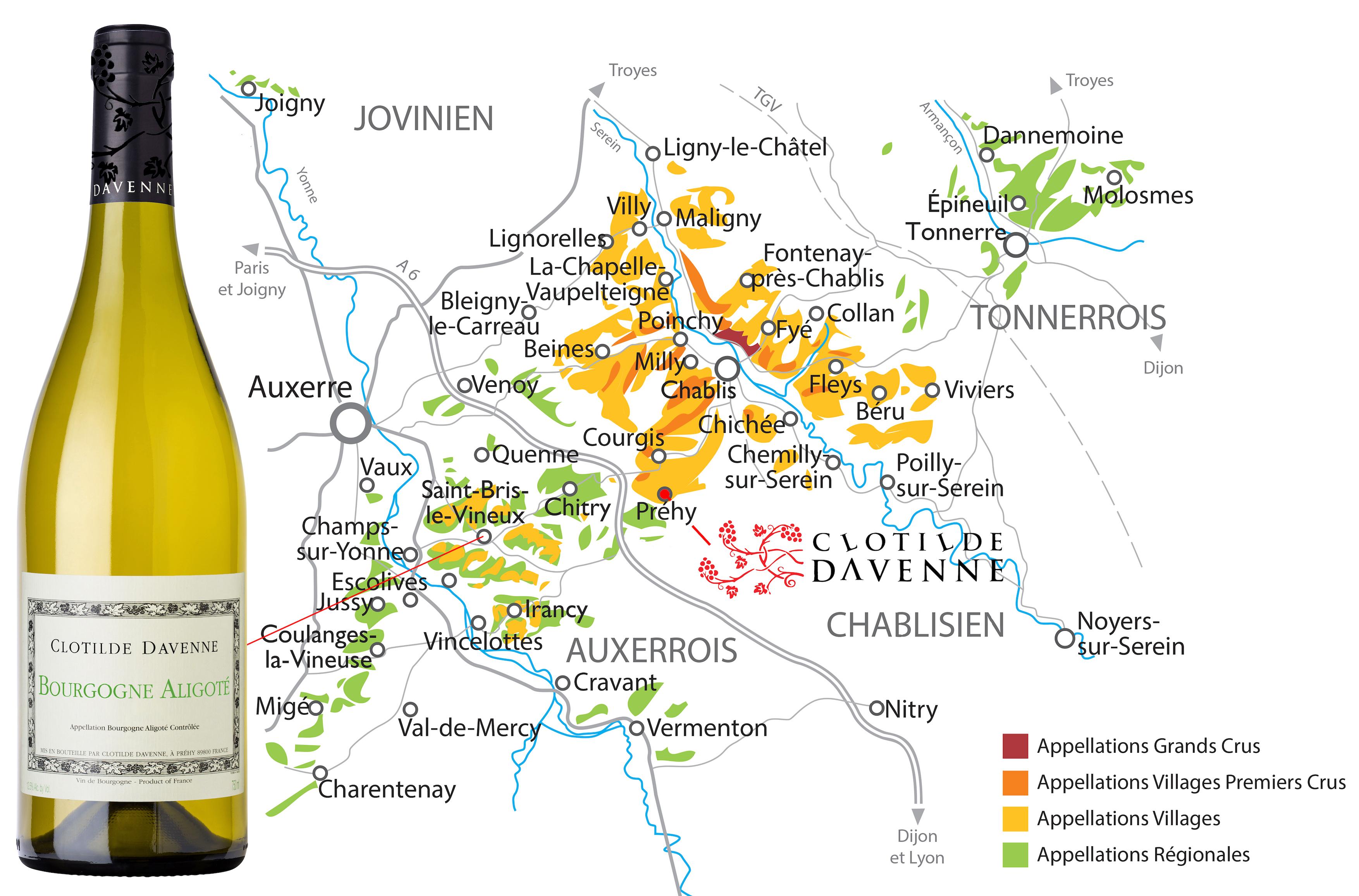 Bourgogne Aligote Domaine Clotilde Davenne Les Temps Perdus